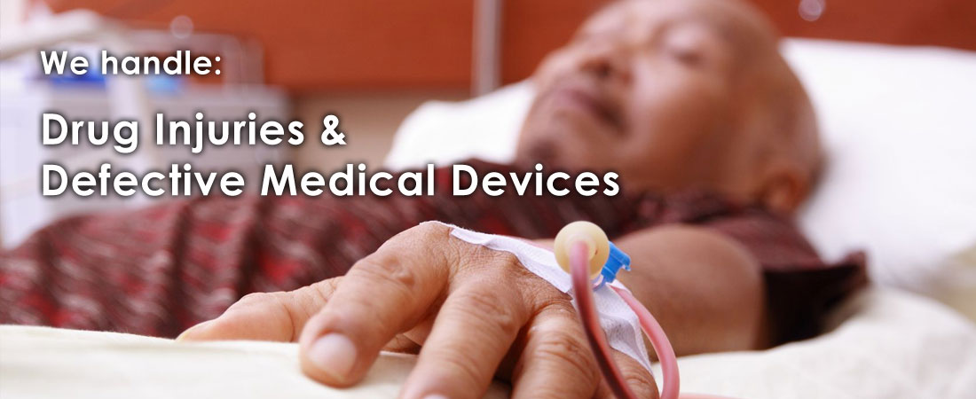 Drug injuries and defective medical devices
